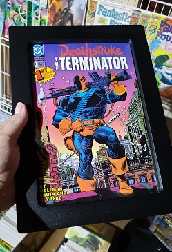 Deathstroke the Terminator is Frame-Worty