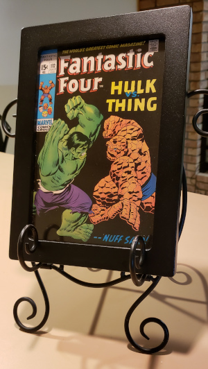 Iconic Hulk vs. Thing Cover is Frame-Worthy