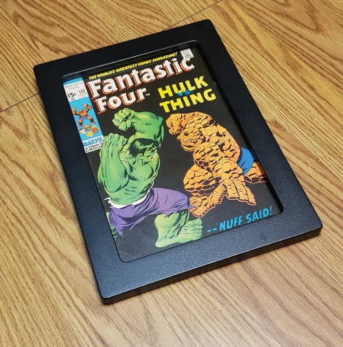 Fantastic Four #112 in a UV Safe Display