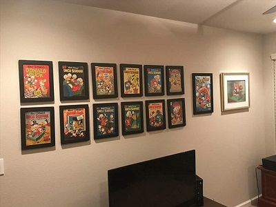 Golden Age Daffy Duck Comic Wall Display