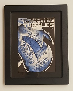 TMNT Book in Frame